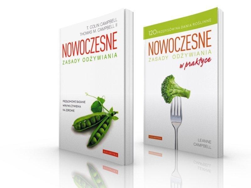 Nowoczesne zasady odżywiania w praktyce Pakiet 2 książki