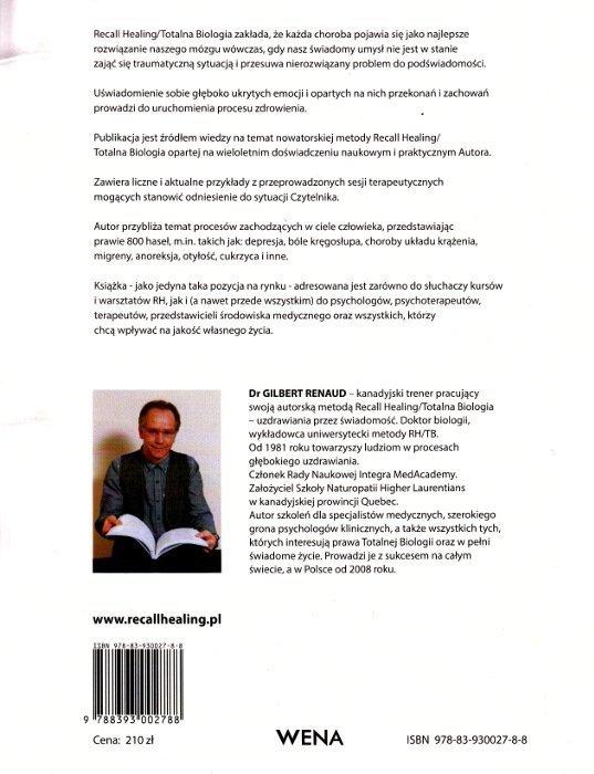 Recall Healing Totalna Biologia Uzdrawianie przez świadomość