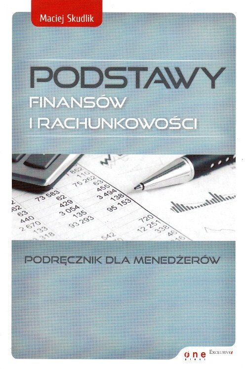 Podstawy finansów i rachunkowości