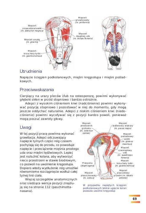 Joga Ilustrowany przewodnik anatomiczny