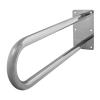 Stützgriff für barrierefreies Bad aus rostfreiem Edelstahl 85 cm ⌀ 32 mm