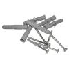 Duschhandlauf Winkelgriff für barrierefreies Bad 50/50 cm weiß ⌀ 32 mm mit Abdeckrosetten