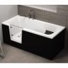 Frontpaneel für VOVO Badewanne 160 cm schwarz