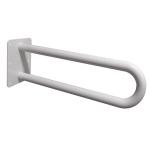 Stützgriff für barrierefreies Bad weiß 85 cm ⌀ 32 mm