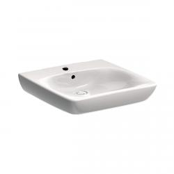 Unterfahrbare Waschtisch für barrierefreies Bad 55 x 55 cm groß ohne Überlauf