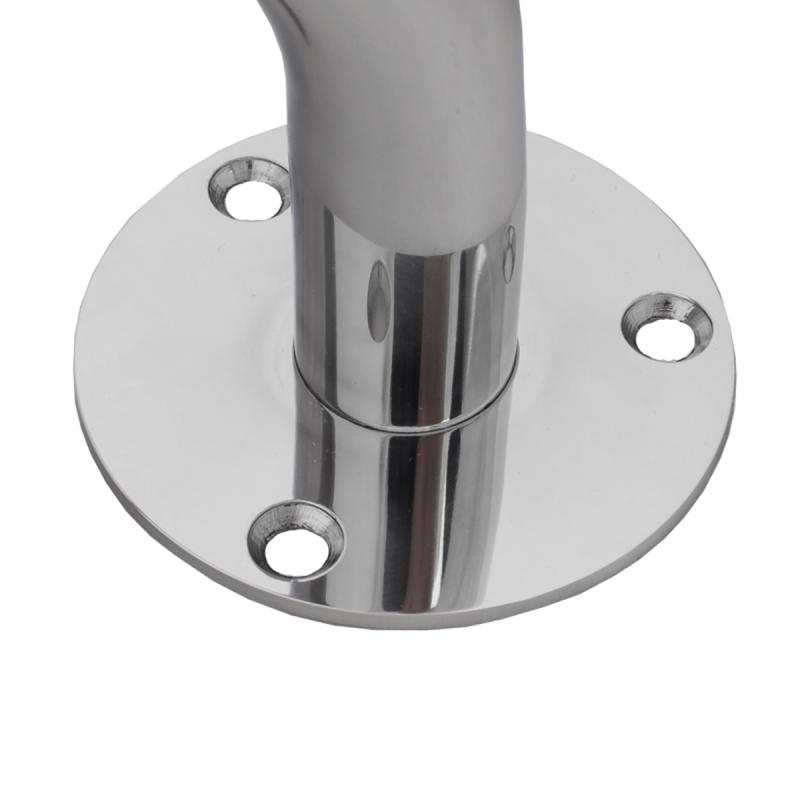 Handlauf für barrierefreies Bad 140 cm aus rostfreiem Edelstahl ⌀ 32 mm