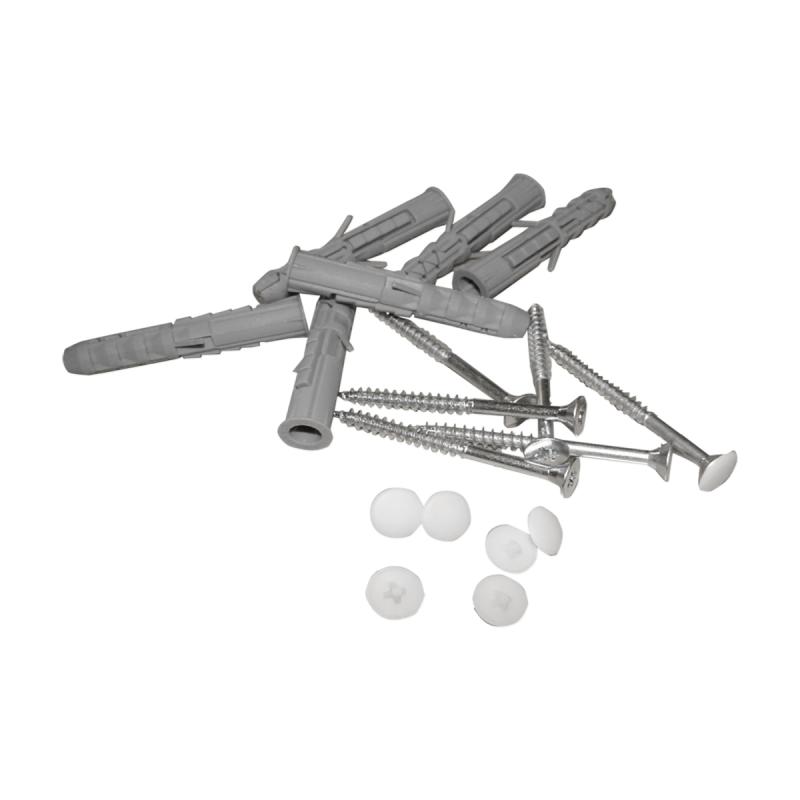Haltegriff für barrierefreies Bad 30 cm weiß ⌀ 25 mm