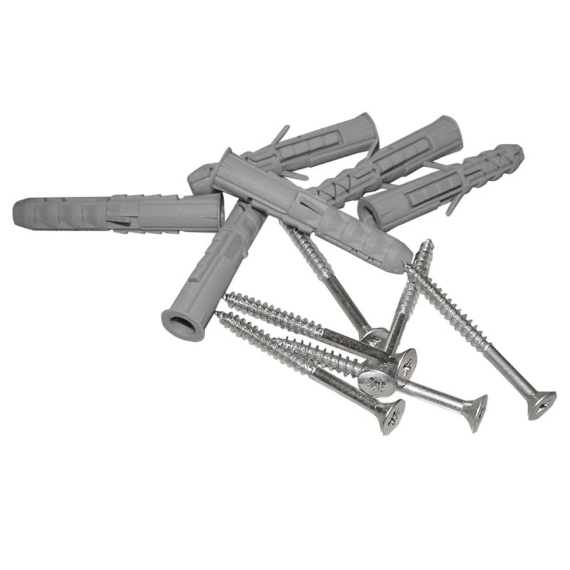 Haltegriff für barrierefreies Bad 30 cm aus rostfreiem Edelstahl ⌀ 32 mm mit Abdeckrosetten
