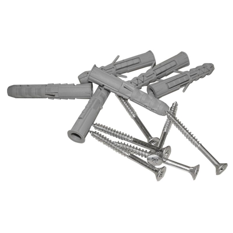 Stumpfwinkelgriff 60/60cm für barrierefreies Bad weiß ⌀ 32 mm mit Abdeckrosetten