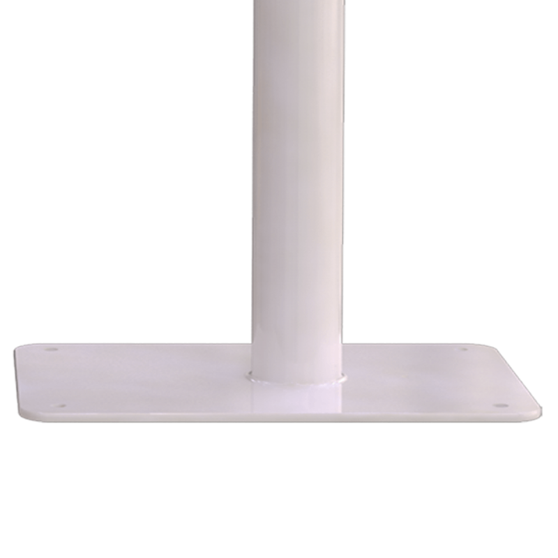 WC - Klappgriff für barrierefreies Bad freistehend weiß 70 cm ⌀ 25 mm