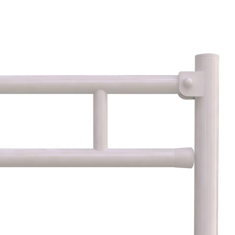 Klappgriffam WC oder Waschbecken für barrierefreies Bad freistehend weiß 60 cm ⌀ 32 mm