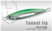 PILKER TUNNEL JIG 60gr (GREEN SHAD)