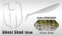 PRZYNĘTA HERAKLES GHOST SHAD 10cm - GREEN SHAD