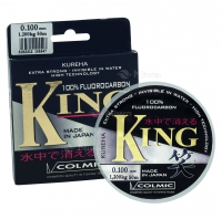 FLUOROCARBON KING 0,10mm 50mt