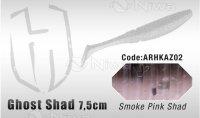 PRZYNĘTA HERAKLES GHOST SHAD 7.5cm - SMOKE PINK SHAD