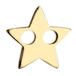 Złota zawieszka 585 gwiazdka do celebrytki