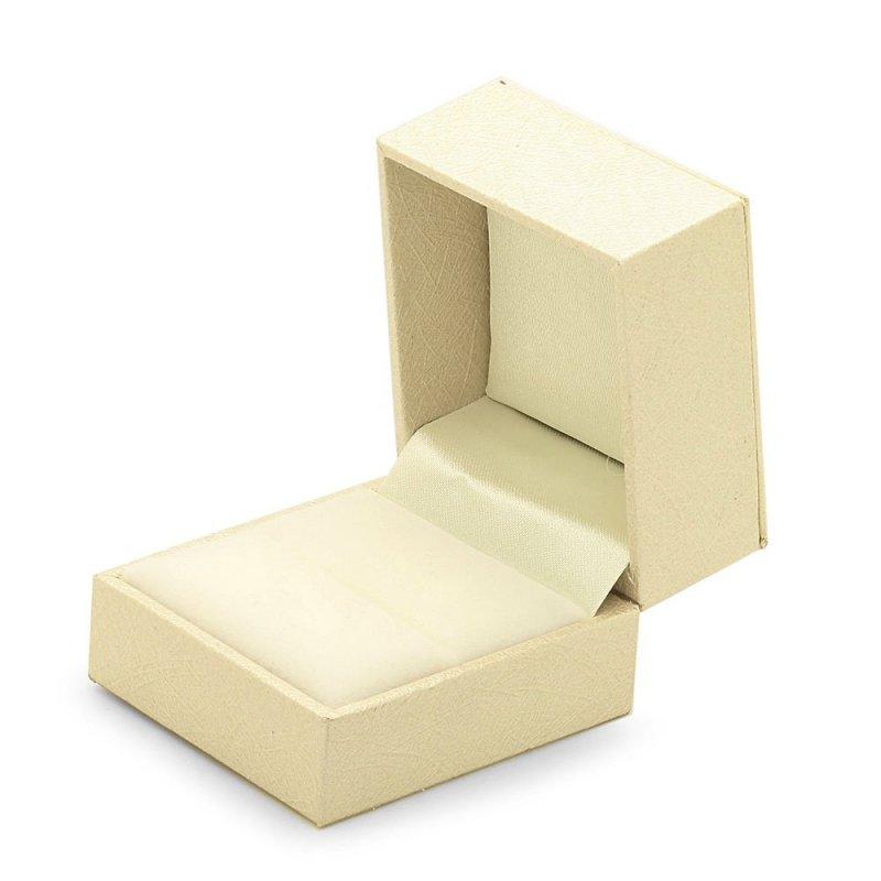 Ceramiczny pierścionek z serduszkiem 585 złote serce | pierścionek z zawieszką