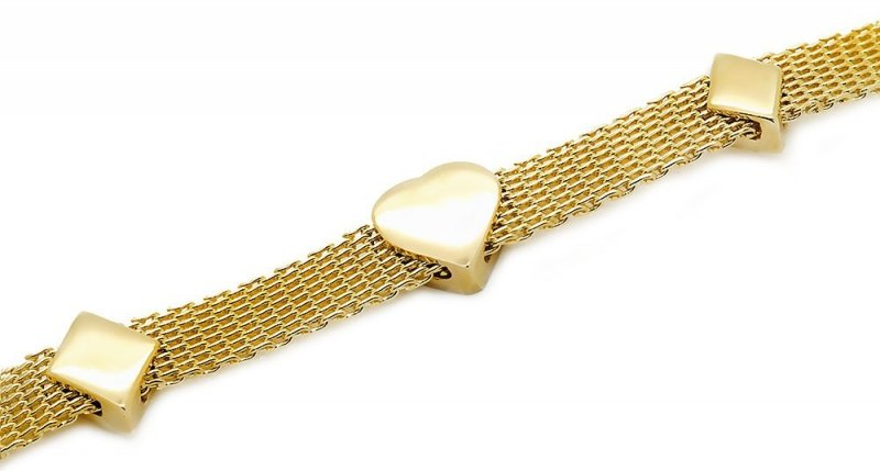 Złota bransoletka 585