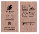 !PROMOCJA Papierowe torebki na Psie odchody ( psiZestaw.pl ) - 500 szt.