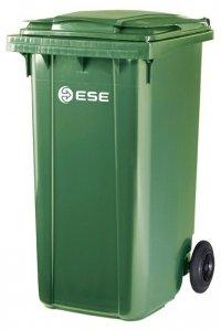 Pojemnik na odpady bytowe MGB 240 (zielony)