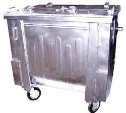 Pojemnik SM 1100 klapa w klapie (ocynk ogniowy)