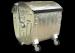 Metalowy pojemnik SM 1100 klapa półokrągła