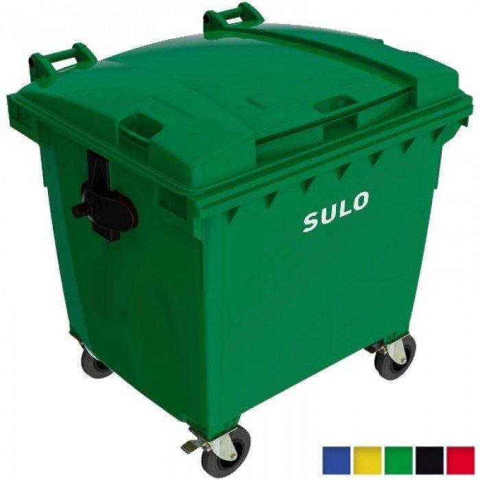 Pojemnik na odpady SULO 1100l Czarny