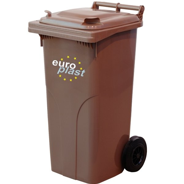 Pojemnik na odpady MGB 120l EUROPLAST Zielony