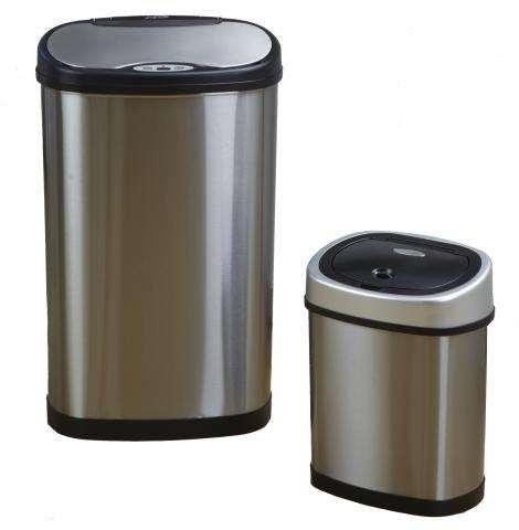 Bezdotykowy Kosze na śmieci, zestaw 50 L + 12 L  ,COMBO
