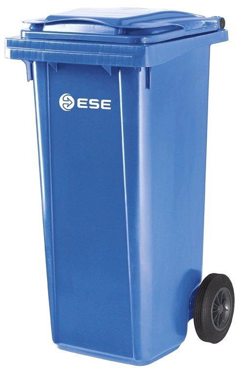 Pojemnik na odpady MGB 120 (czerwony)