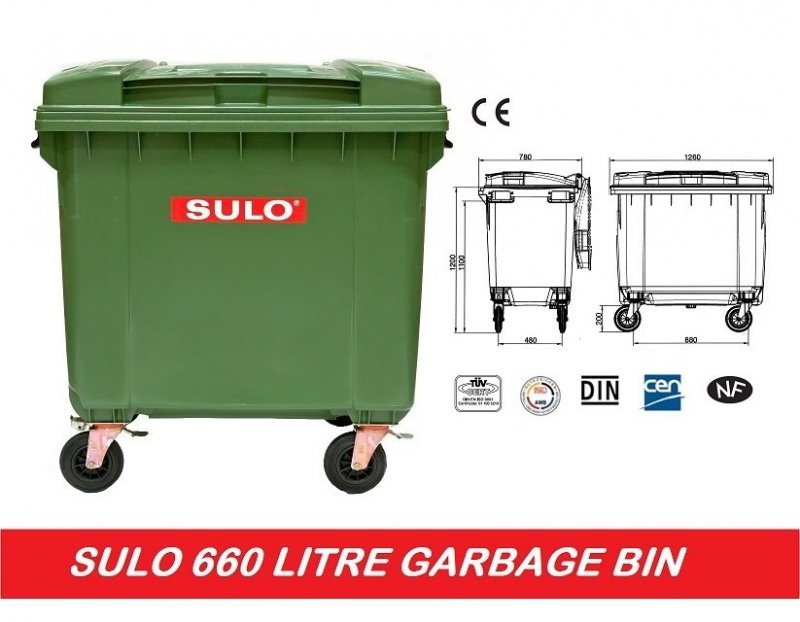 Pojemnik na odpady SULO 1100l Odpady niebezpieczne