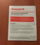 Honeywell karty czyszczące 25sztuk