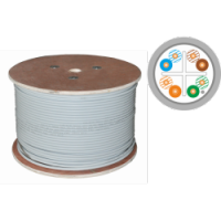 Kable F/FTP kat.6A LSOH Eca 4x2x23AWG 500m (10Gb/s) 25 lat gwarancji, badanie jakości laboratorium INTERTEK (USA)