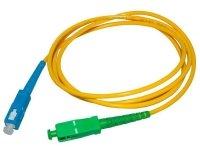 Patch cord SC/APC-SC/UPC simplex SM 1.0m