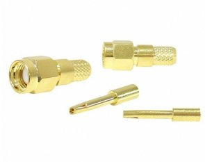 Wtyk SMA-RP H155(pin żeński), zaciskany na kabel H155