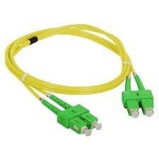 Patch cord SC/APC-SC/APC duplex SM 1.0m