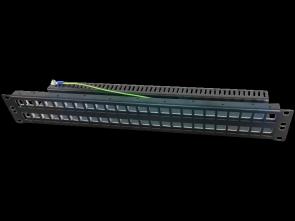 Patch panel 19 modularny 48 portów 1.5U niewyposażony