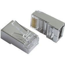 Wtyk 8p8c RJ-45 kat.6 FTP