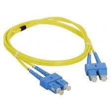 Patch cord SC/UPC-SC/UPC duplex SM 1m
