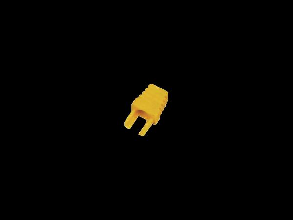 Osłonki wtyku RJ45 żółte wenętrzna