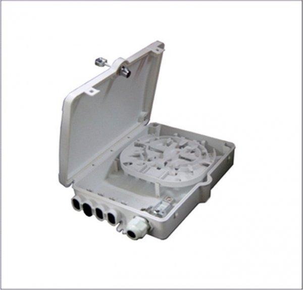 Puszka FTTH TL-P08 z zamkiem na kluczyk - 8 włókien SC simplex T-Line