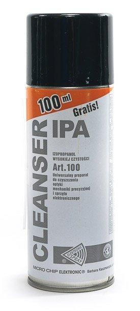 Cleanser IPA 400ml spray IZOPROPANOL - alkohol izopropylowy