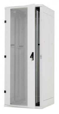 Triton 19&#34 Szafa stojąca RMA-42-L82-CAX-A1 (42U, 800x1200mm, perforowane drzwi przód/tył, kolor jasnoszary RAL7035)