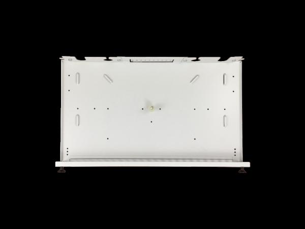 """Przełącznica 12xSC simplex /12xLC duplex 19"""" 1U z płytą czołową oraz akcesoriami montażowymi (dławiki, opaski)"""