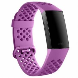 Smartband Fitbit Charge 3 Pulsometr fioletowy
