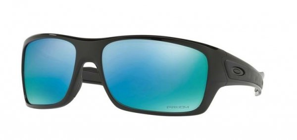 Oakley TURBINE. Polished Black/Prizm Deep H20 Polarzied OO9263-14
