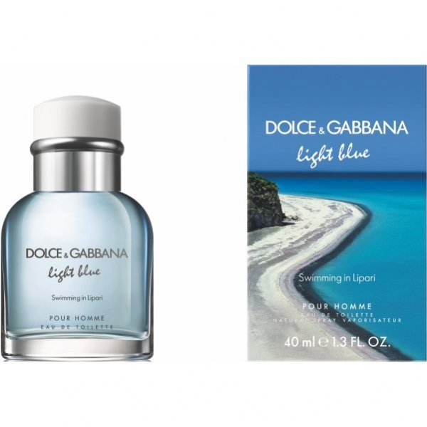 Dolce & Gabbana Light Blue Pour Homme Swimming in Lipari EdT 40 ml