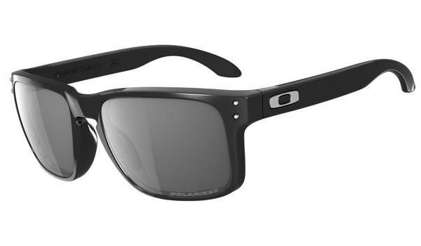 Oakley HOLBROOK. Polished Black/Grey Polarized OO9102-02