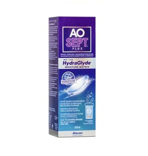 Płyn Aosept Plus HydraGlyde 360ml