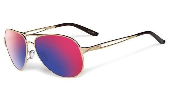 Oakley CAVEAT Polished Gold/Positive Red Iridium OO4054-14